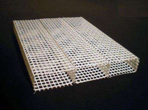Struttura in tessuto di vetro e resina poliestere