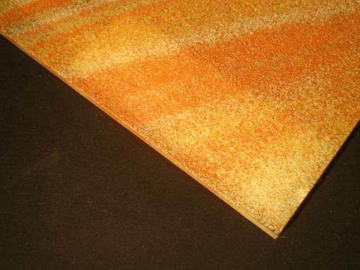 Vetro con effetti estetici di sabbia colorata o naturale