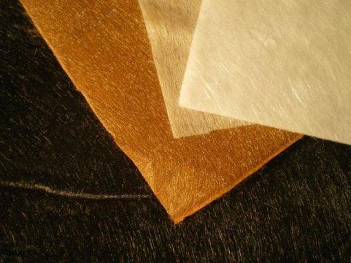 Tessuti non tessuti realizzati con fibre tecniche