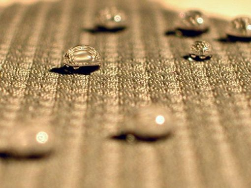 Tessuto nanotech antimacchia