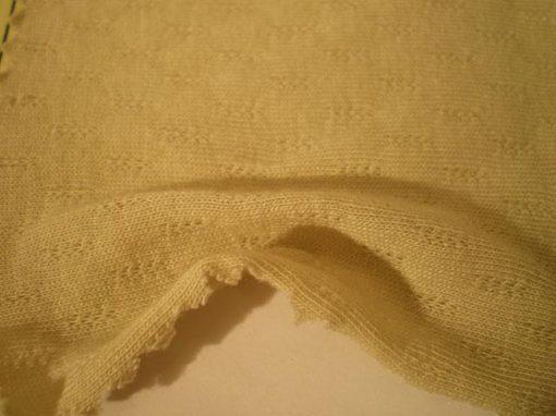 Tessuto in fibre di bambù e cotone