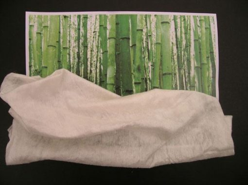 Tessuto-non-tessuto in bambù