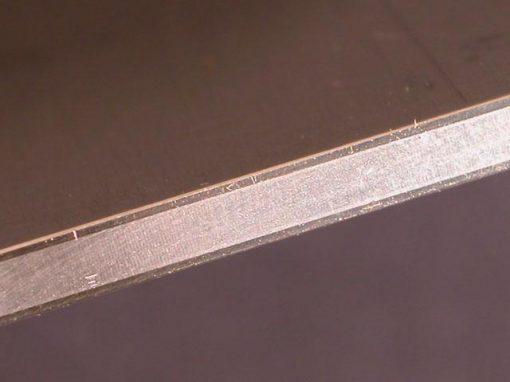 Metallo composito alluminio-acciaio