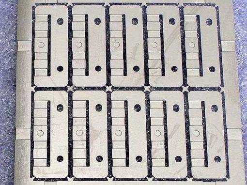 Foto-incisione per componenti metallici