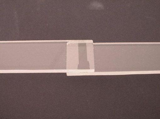 Saldatura laser di plastica trasparente