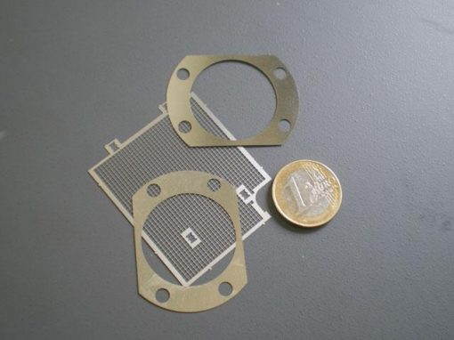 Tecnologia di photoetching o di elettro-formatura